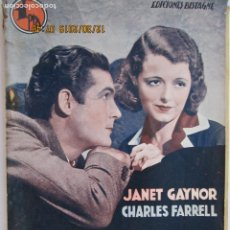 Libros: MARIANITA , JANET GAYNOR, CHARLES FARRELL - EDICIONES BISTAGNE - LA NOVELA SEMANAL CINEMATOGRÁFICA. Lote 189587930