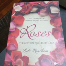 Libros: ROSES , LEILA MWACHAN, THE NEW YORK TIMES BESTESLLER. Lote 190622131
