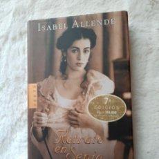 Libros: LIBROS RETRATO DE UNA ESPÍA 7°EDICIÓN ISABEL ALLENDE. Lote 192713397