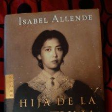 Libros: LIBROS HIJA DE LA FORTUNA ISABEL ALLENDE. Lote 192718897