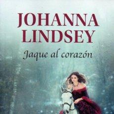 Libros: JAQUE AL CORAZON DE JOHANNA LINDSEY - PENGUIN RANDOM HOUSE, 2019 (NUEVO). Lote 198790211