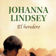 Libros: EL HEREDERO DE JOHANNA LINDSEY - PENGUIN RANDOM HOUSE, 2019 (NUEVO). Lote 198792163