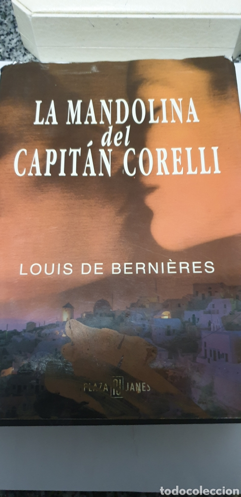 LA MANDOLINA DEL CAPITÁN CORELLI. LOUIS DE BERNIERES (Libros Nuevos - Literatura - Narrativa - Novela Romántica)