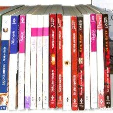 Livres: LOTE DE NOVELAS ROMÁNTICAS DE DISTINTAS COLECCIONES, JAZMIN, BIANCA ECT..20 UNIDADES. Lote 200646776