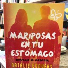 Libros: MARIPOSAS EN TU ESTÓMAGO. COMPLEJO DE MARIPOSA. Lote 210188970