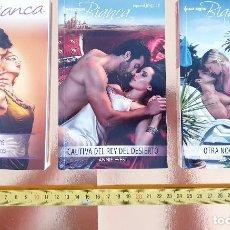 Libros: PACK LIBROS-NOVELA ROMANTICA-HARLEQUIM-PACK DE TRES-BOLSILLO-IMPOLUTOS-VER FOTOS. Lote 211779851