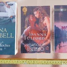 Libros: PACK LIBROS-NOVELA ROMANTICA-HARLEQUIM-PACK DE TRES-BOLSILLO-IMPOLUTOS-VER FOTOS. Lote 211779938