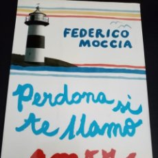 Libros: PERDONA SI TE LLAMO AMOR. FEDRICO MOCCIA. LIBRO. ROMÁNTICA.. Lote 213315362