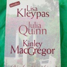Livres: ¿DONDE ESTA MI HÉROE? LISA KLEYPAS,JULIA QUINN,KINLEY MCGREGOR. Lote 215194101