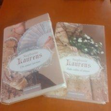 Libros: LOTE DE 2 NOVELAS DE STEPHANIE LORENS SIN ESTRENAR. Lote 215341543