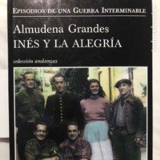 Libros: INÉS Y LA ALEGRÍA. Lote 221003855