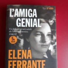 Libros: L'AMIGA GENIAL - FERRANTE. Lote 223352982