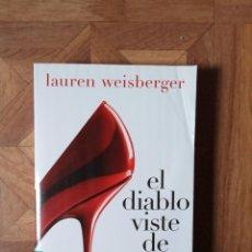 Livres: LAUREN WEISBERGER - EL DIABLO VISTE DE PRADA. Lote 228257145