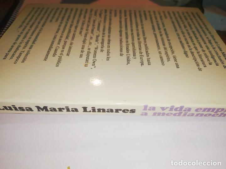 Libros: LA VIDA EMPIEZA A MEDIA NOCHE / LUISA MARIA LINARES / JUVENTUD / Y205 - Foto 2 - 233008370