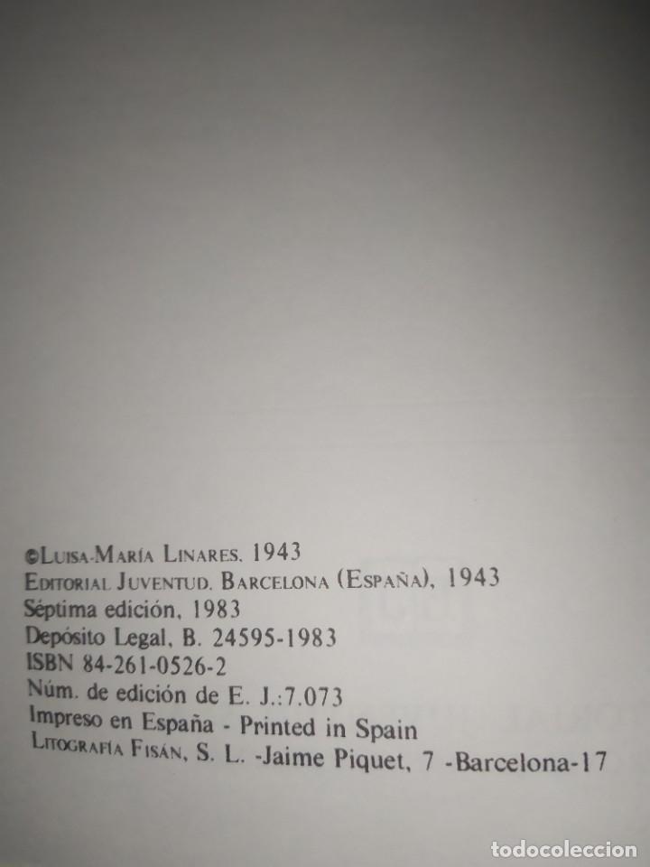 Libros: LA VIDA EMPIEZA A MEDIA NOCHE / LUISA MARIA LINARES / JUVENTUD / Y205 - Foto 4 - 233008370