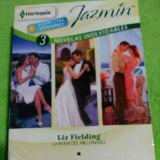 Libros: PACK LIBROS SUSPIROS DE PASIÓN, JAZMIN, 3 NOVELAS INOLVIDABLES Y DESEO. Lote 252851610