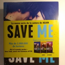Libros: MONA KASTEN. SAVE ME. SERIE SAVE 1. PLANETA. NOVEDAD.. Lote 262268750