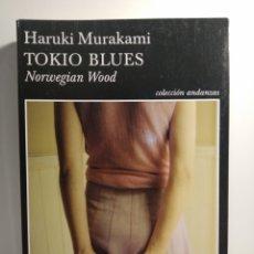 Libros: TOKIO BLUES. NORWEGIAN WOOD HARUKI MURAKAMI TUSQUETS. Lote 278301628