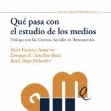 Libros: QUÉ PASA CON EL ESTUDIO DE LOS MEDIOS. Lote 289411763
