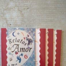 Libros: RELATOS DE AMOR. BIBLIOTECA PORTÁTIL DEL CÍRCULO DE LECTORES. C-7. Lote 293420593