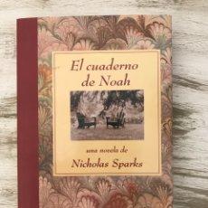 """Libros: LIBRO """"EL CUADERNO DE NOAH"""" DE NICHOLAS SPARKS. Lote 295899178"""