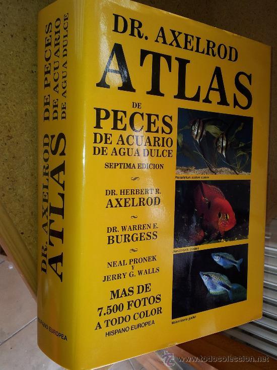 dr. axelrod atlas de peces de acuario de agua d - Comprar Libros ...
