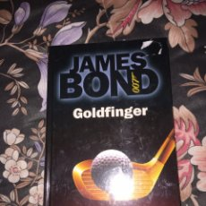 Libros: JAMES BOND GOLDFINGER DE IAN FLEMING NUEVO TAPA DURA RBA PRECINTADO. Lote 54859029