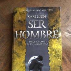 Libros: SER HOMBRE. Lote 180347605