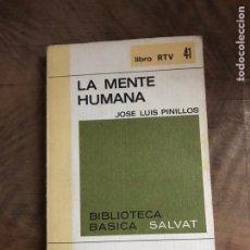Libros: LA MENTE HUMANA. Lote 180416448