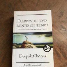 Libros: CUERPOS SIN EDAD MENTES SIN TIEMPO. Lote 180416808