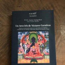 Libros: UN ARCO IRIS DE NÉCTARES CURATIVOS. Lote 234118605