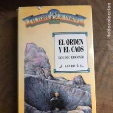 Libros: EL ORDEN Y EL CAOS. Lote 180417907