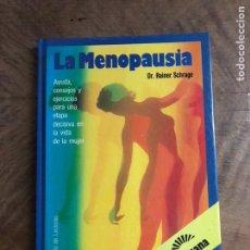 Libros: LA MENOPAUSIA. Lote 180417983