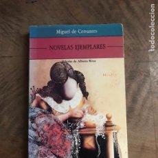 Libros: NOVELAS EJEMPLARES. Lote 180418622