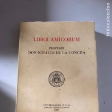 Libros: LÍBER AMICORUM. Lote 180508222