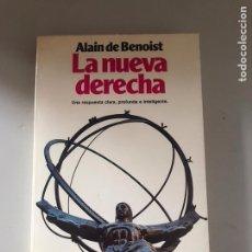 Livres: LA NUEVA DERECHA. Lote 180901483