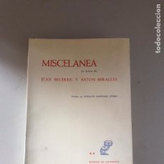 Libros: MISCELÁNEA. Lote 180901518