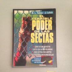 Libros: EL TERRIBLE PODER DE LAS SECTAS. Lote 181083620