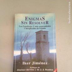 Libros: ENIGMA SIN RESOLVER. Lote 181124603