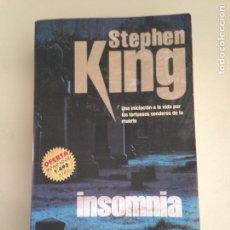 Libros: INSONIA STEPHEN KING. Lote 181124660