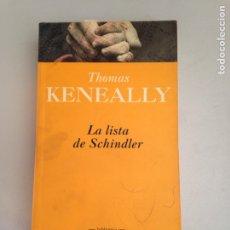 Libros: LA LISTA DE SCHINDLER. Lote 181145558