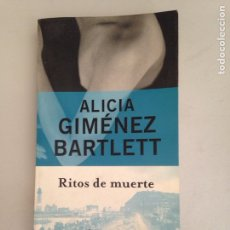 Libros: RITOS DE MUERTE. Lote 181156112