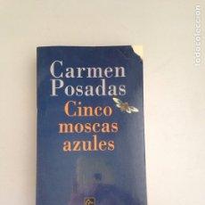 Libros: CINCO MOSCAS AZULES. Lote 181156301