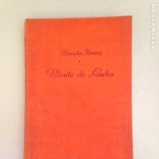 Libros: MONTE DE SANCHA. Lote 181158175