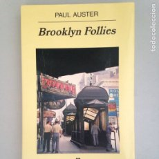Libros: BROOKLYN FOLLIES. Lote 181159321