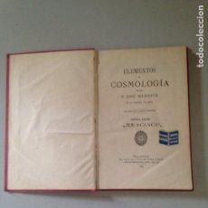 Libros: ELEMENTOS DE LA COSMOLOGÍA. Lote 181434510
