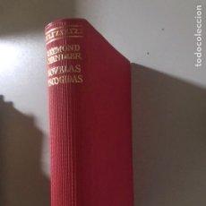 Libros: NOVELAS ESCOGIDAS AGUILAR. Lote 181434567