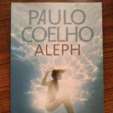 Libros: ALEPH DE PAULO COELHO FIRMADO. Lote 181755291