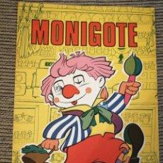 Libros: MONIGOTE ED. FHER 1977 CUENTOS Y PASATIEMPOS INFANTILES. Lote 182620052