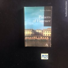 Libros: PALACES OF FLORENCE. Lote 182638365